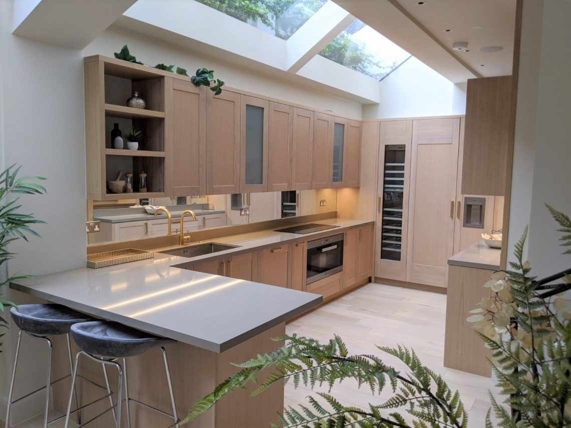 Bespoke Kitchen With Lots Of Light