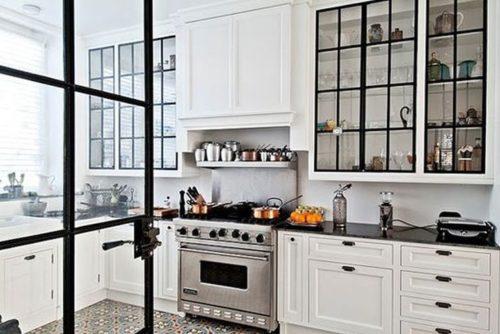 Black Steel Frame Cabinets