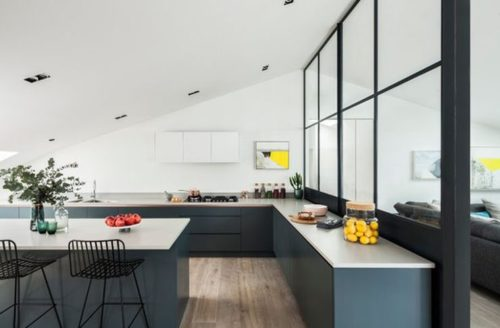 Critall Inspired Contemporary Kitchen