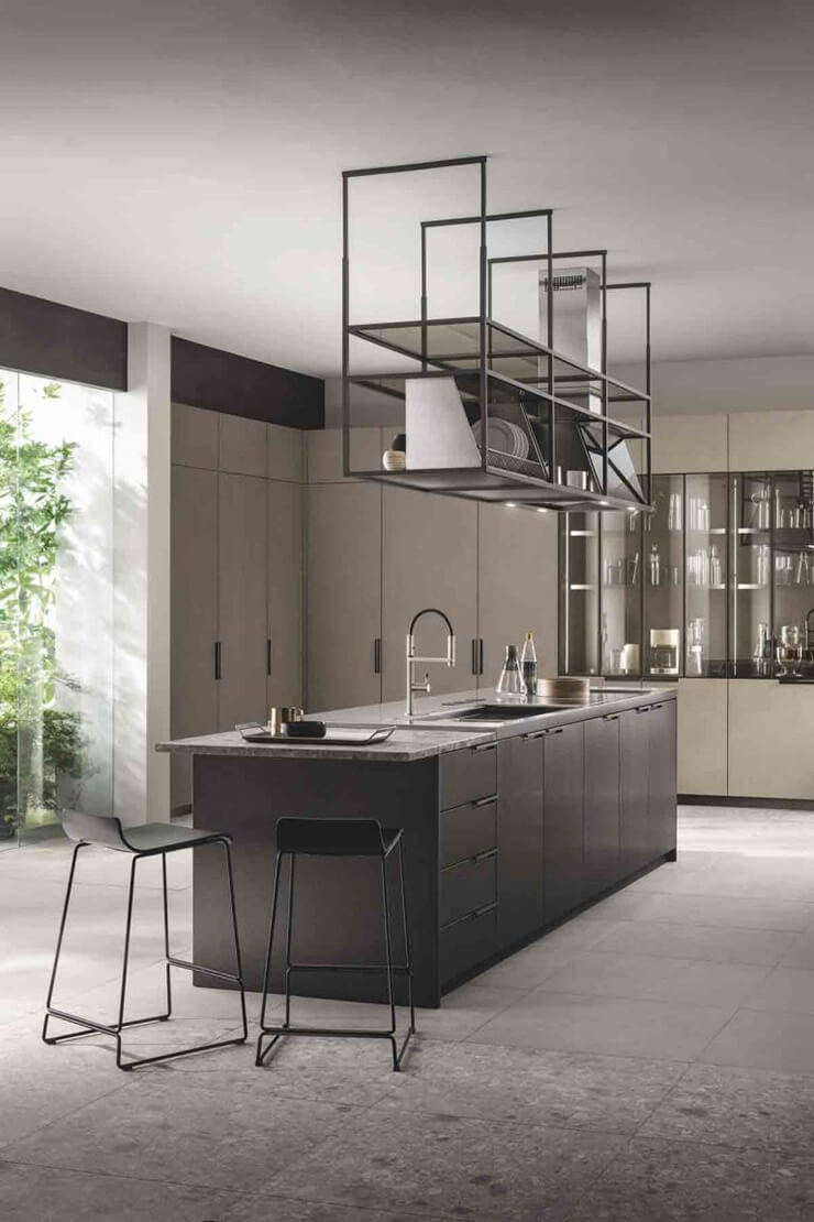 Crittall Style Kitchen Feature