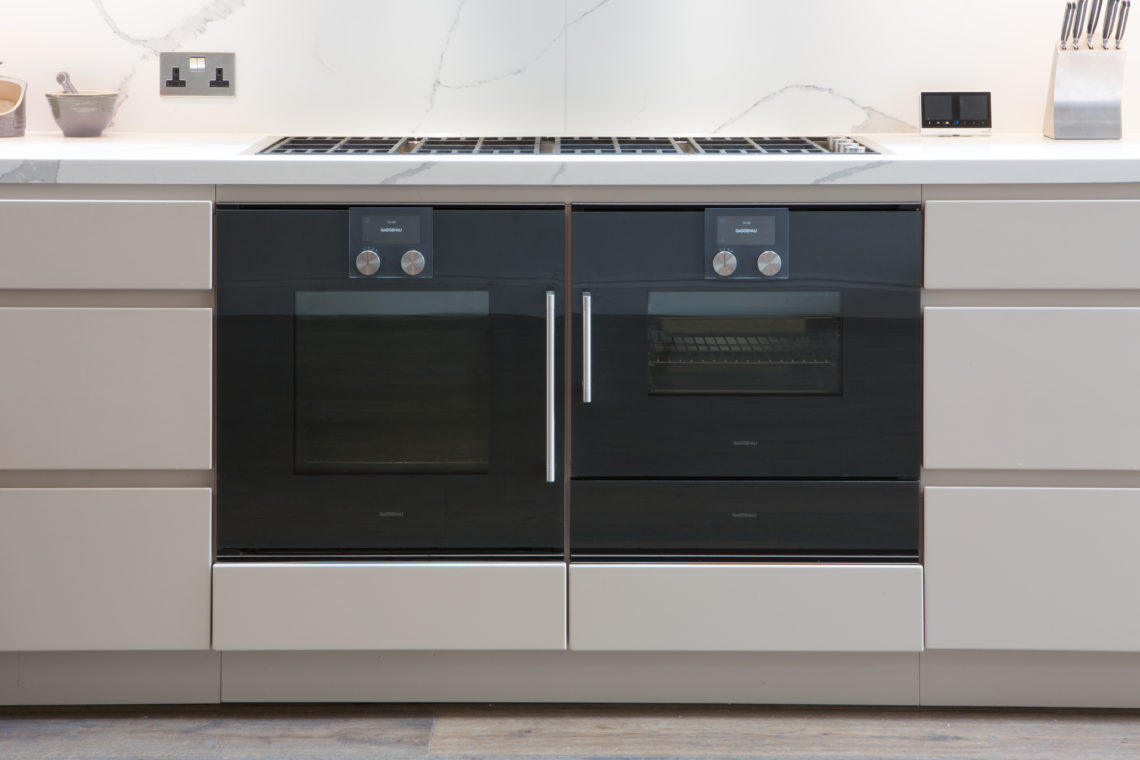Handleless Cabinets And Gaggenau