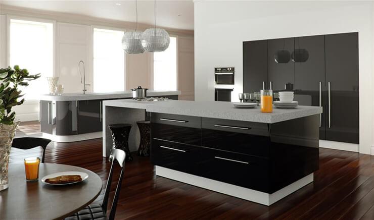 Monochrome Kitchen 7