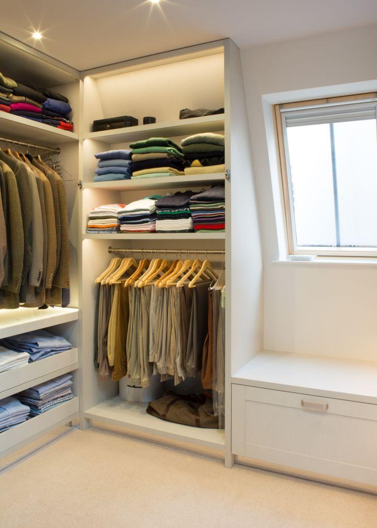 Bespoke Joinery Walk In Closet
