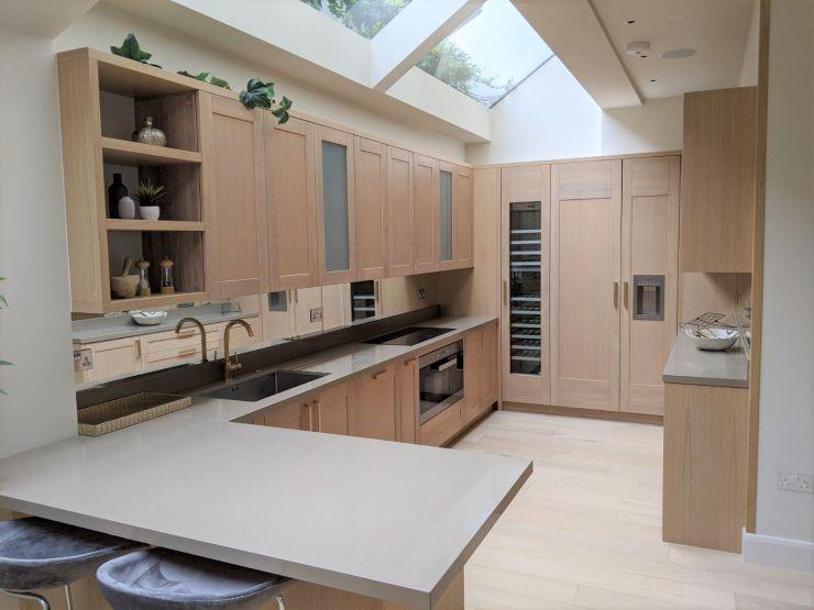 Large Bespoke Peninsula Kitchen