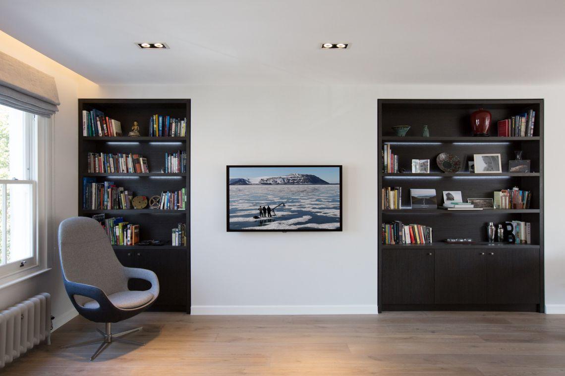 Lounge Bespoke Bookcases