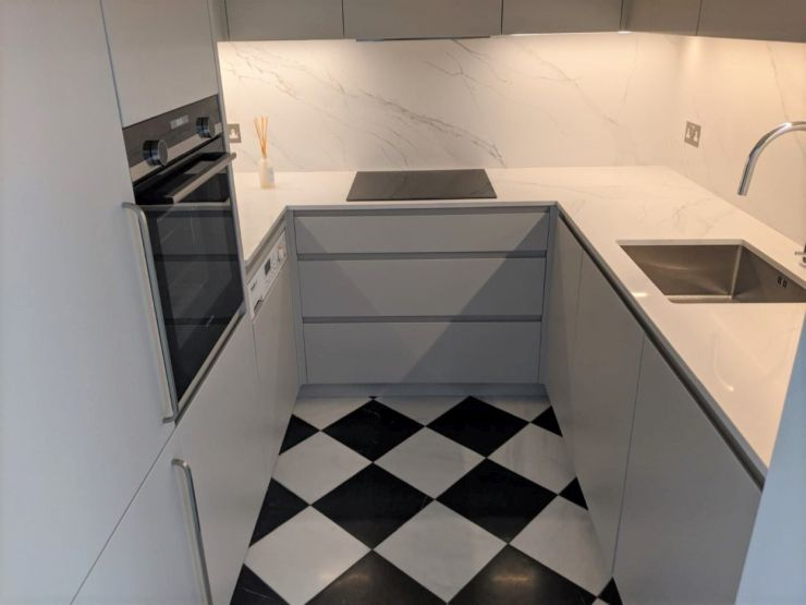 Small Bespoke Kitchen Design